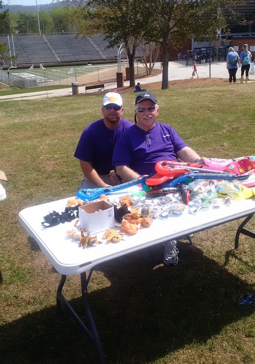 2015-4-8 Special Olympics - Mike T and Blair
