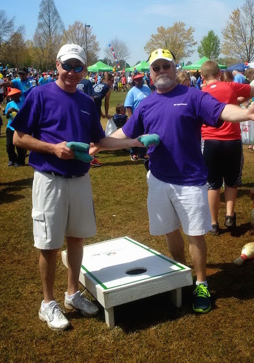 2015-4-8 Special Olympics - Todd and Jeff